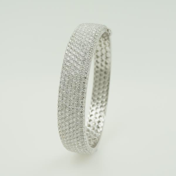 Large Pave Diamond Bracelet
