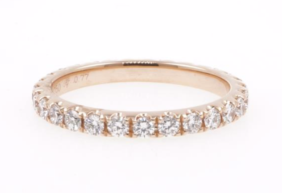 Classic Round Diamond Eternity Band