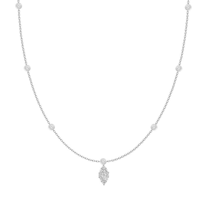 marquise pendant, marquise diamond, marquise jewelry, marquise necklace