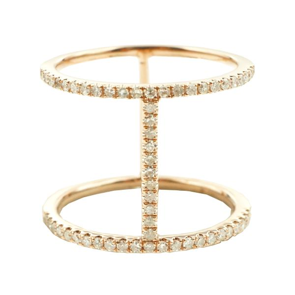 Trendy Diamond Pave Ring