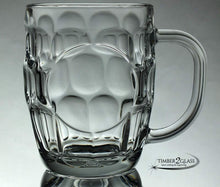 customize glass mug, laser engrave glass mug, personalize glass mug with Timber 2 Glass