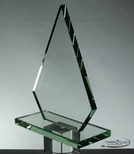 customize conquest award- customized award-Timber 2 Glass, laser engrave award, customize award