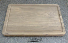 customize walnut butcher block with Timber 2 Glass, personalize walnut butcher block, laser engrave butcher block