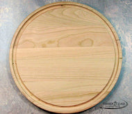 customize round cherry cutting board, personalize round cherry cutting board with Timber 2 Glass, laser engrave round cherry cutting board
