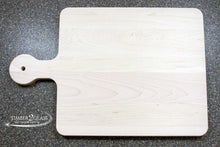 customize maple cutting board, personalize maple cutting board, laser engrave maple cutting board by Timber 2 Glass