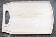 customize maple cutting board, personalize maple cutting board with Timber 2 Glass, laser engrave maple cutting board