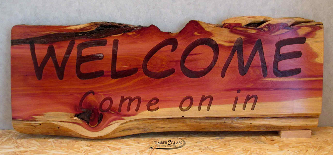 Cedar Boards to be Customized-Please Contact us for Pricing
