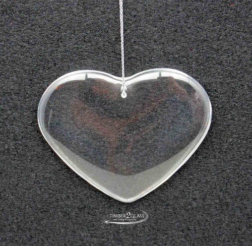 personalize heart glass ornament with Timber 2 Glass, customize heart ornament, heart ornament, glass heart ornament