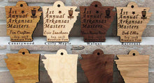 Exotic Wood Club & Event Tags