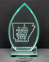 custom awards, laser engraved awards, personalized awards,  glass awards engraved by Timber 2 Glass