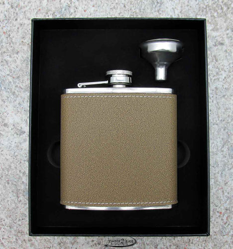 Flask Leather Set