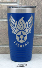 military logo engraved tumblers, laser engraved Polar Camel Tumblers by Timber 2 Glass, custom laser engraved gifts, gift ideas, custom gifts, tumblers