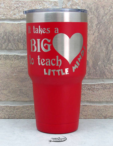 teacher gift, custom gift, teacher appreciation gift, personalized teacher gift, gift from Timber 2 Glass, engraved tumbler for teacher, unique gift