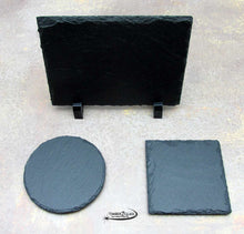 Slate 5x7 Rectangle Decor w/Plastic Feet