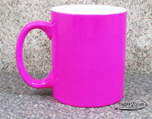 customize pink coffee cup by Timber 2 Glass, personalize coffee cup, laser engrave coffee cup