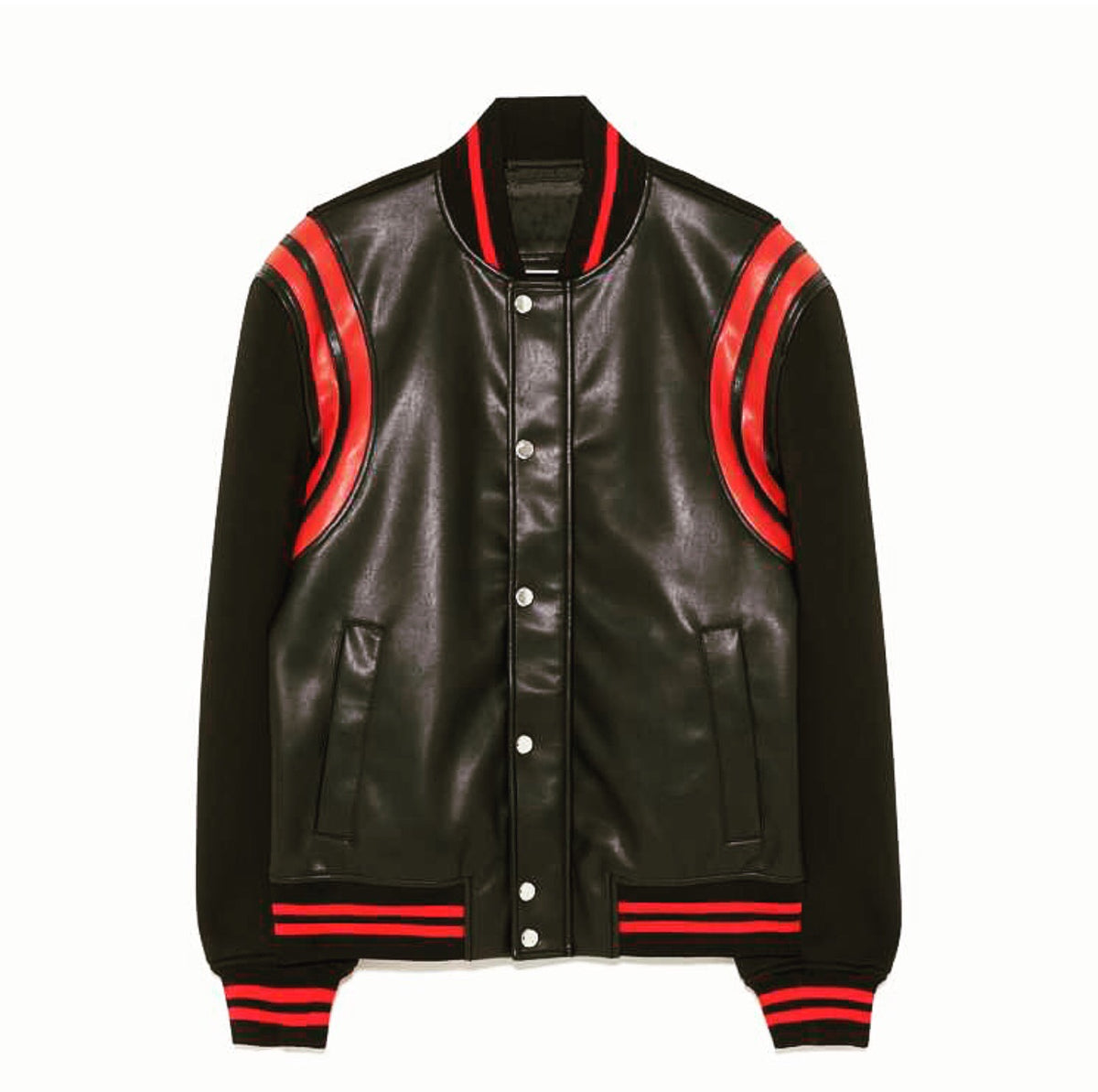 VARSITY LEATHER JACKET