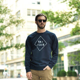 Men's Ski Club Sweatshirt in Navy