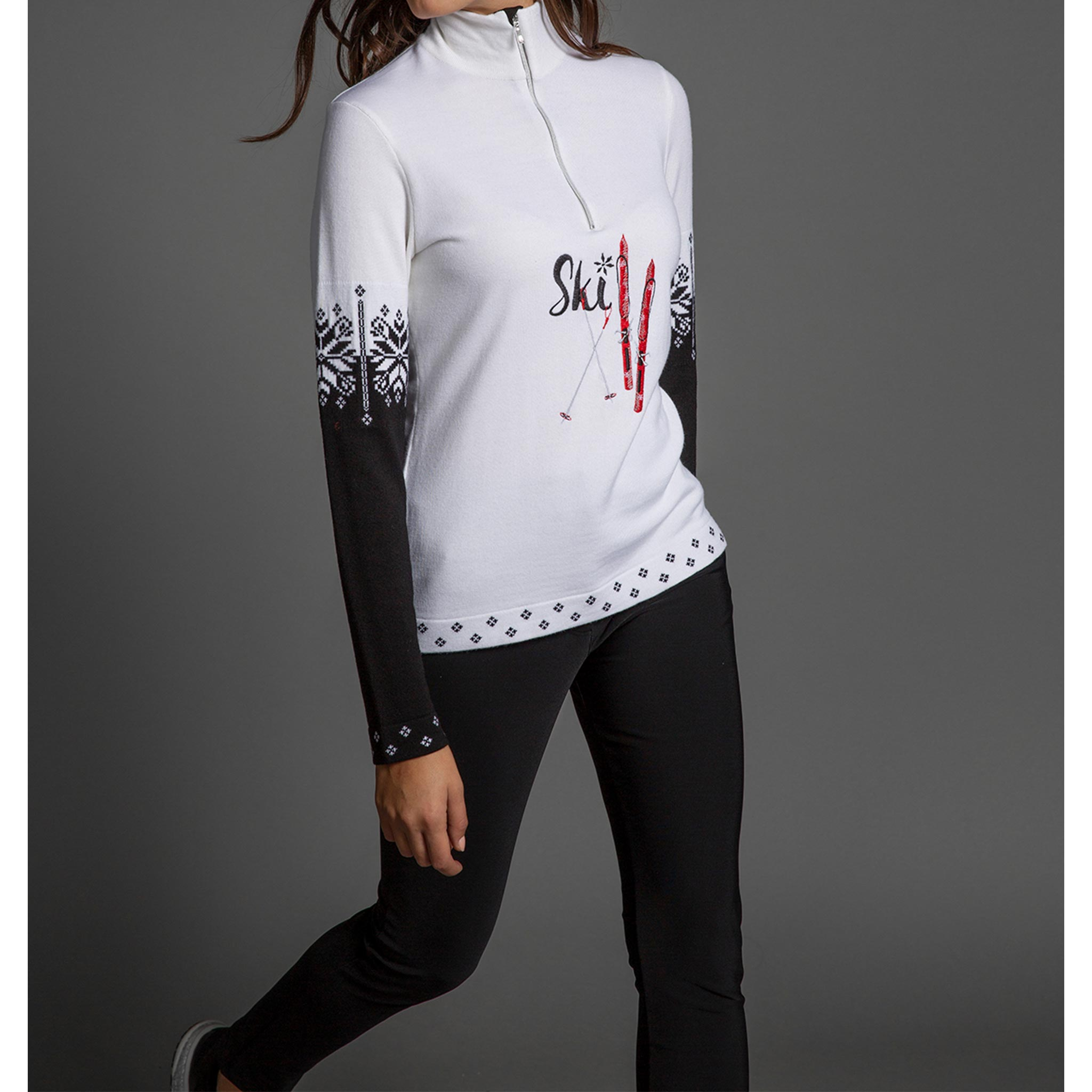 Selva Gardena Half Zip Sweater