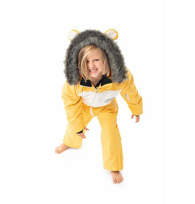 Cub the Lion Kids Ski Suit | Dinoski | Hatch Label