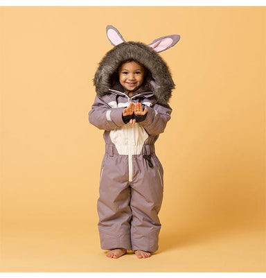 Hop the Bunny Kids Ski Suit | Dinoski | Hatch Label