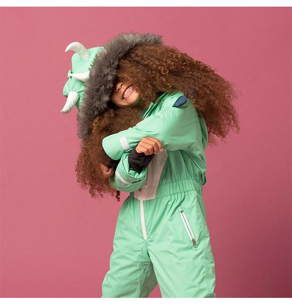 Spike the Dinosaur Kids Ski Suit | Dinoski | Hatch Label