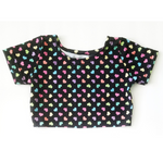 Tiny Hearts Tee or Crop