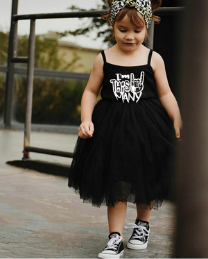 I'm This Many Rocker Tutu Dress Tee