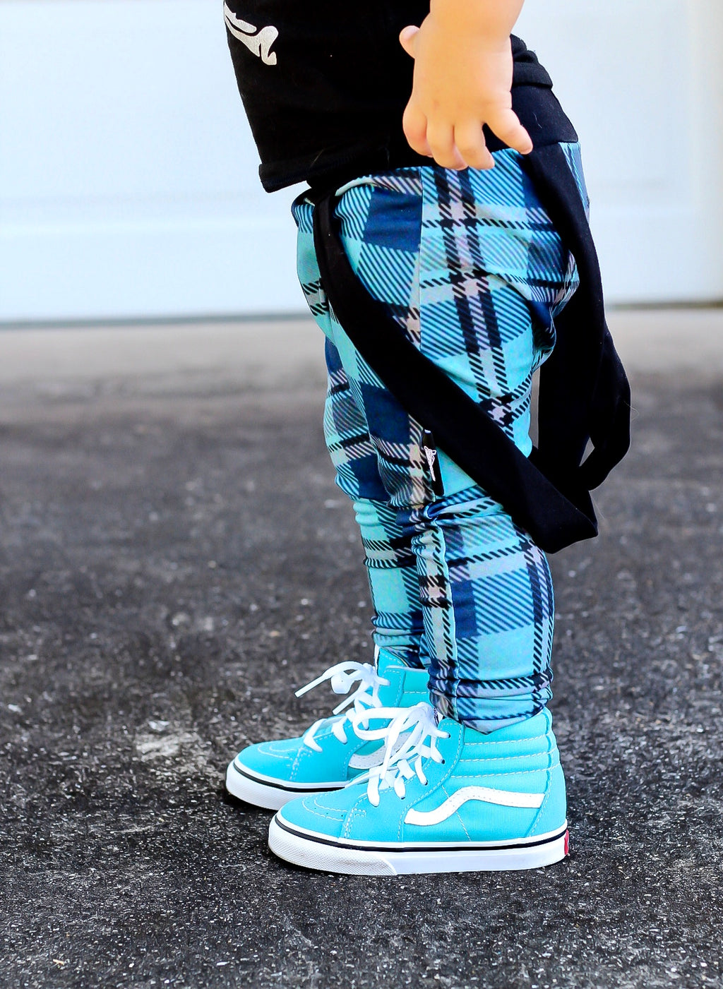 Blue Plaid Harems