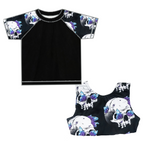 Crystal Skulls Swim Top Only