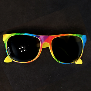 Rainbow Stripes Shades Sunglasses