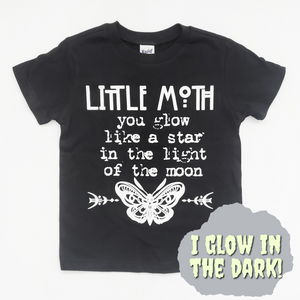 Little Moth Glow in the Dark Tee Shirt