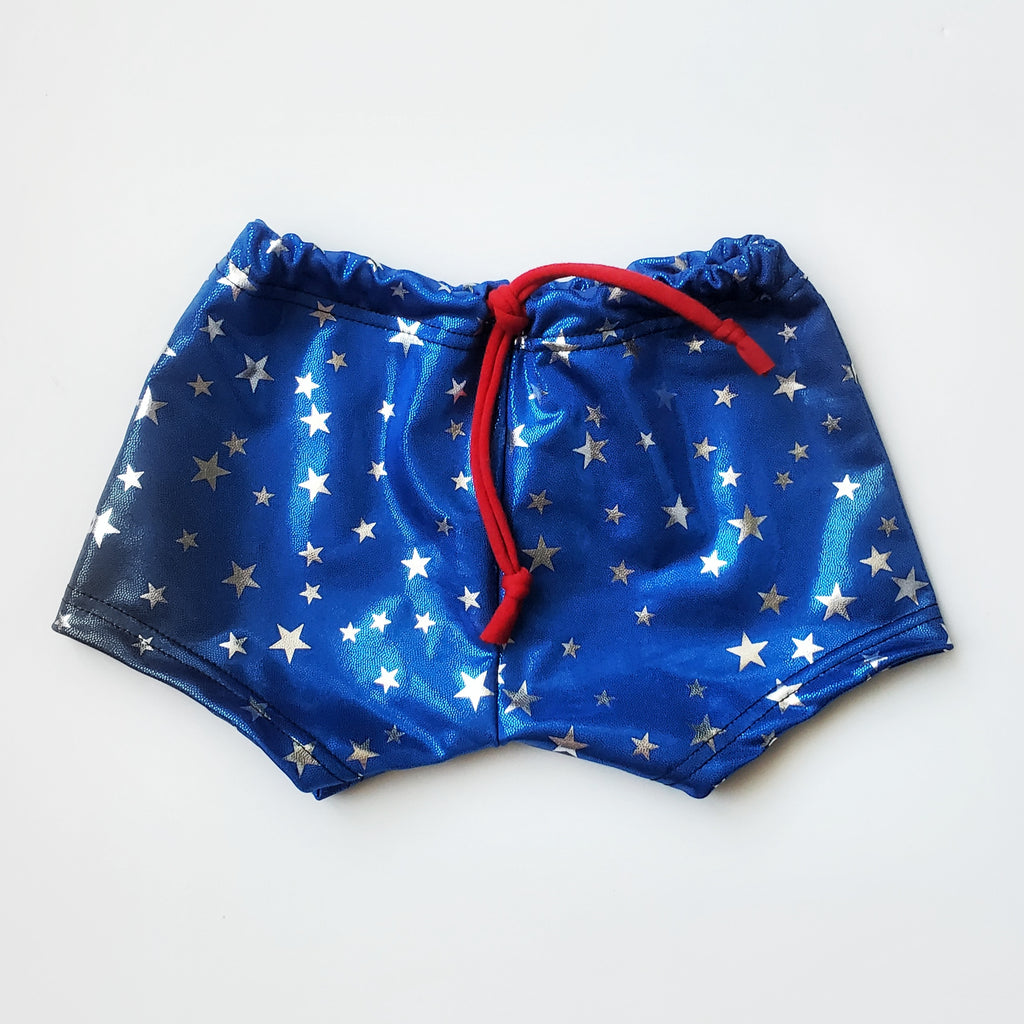 Freedom Stars Euro Swim or Harem Shorts