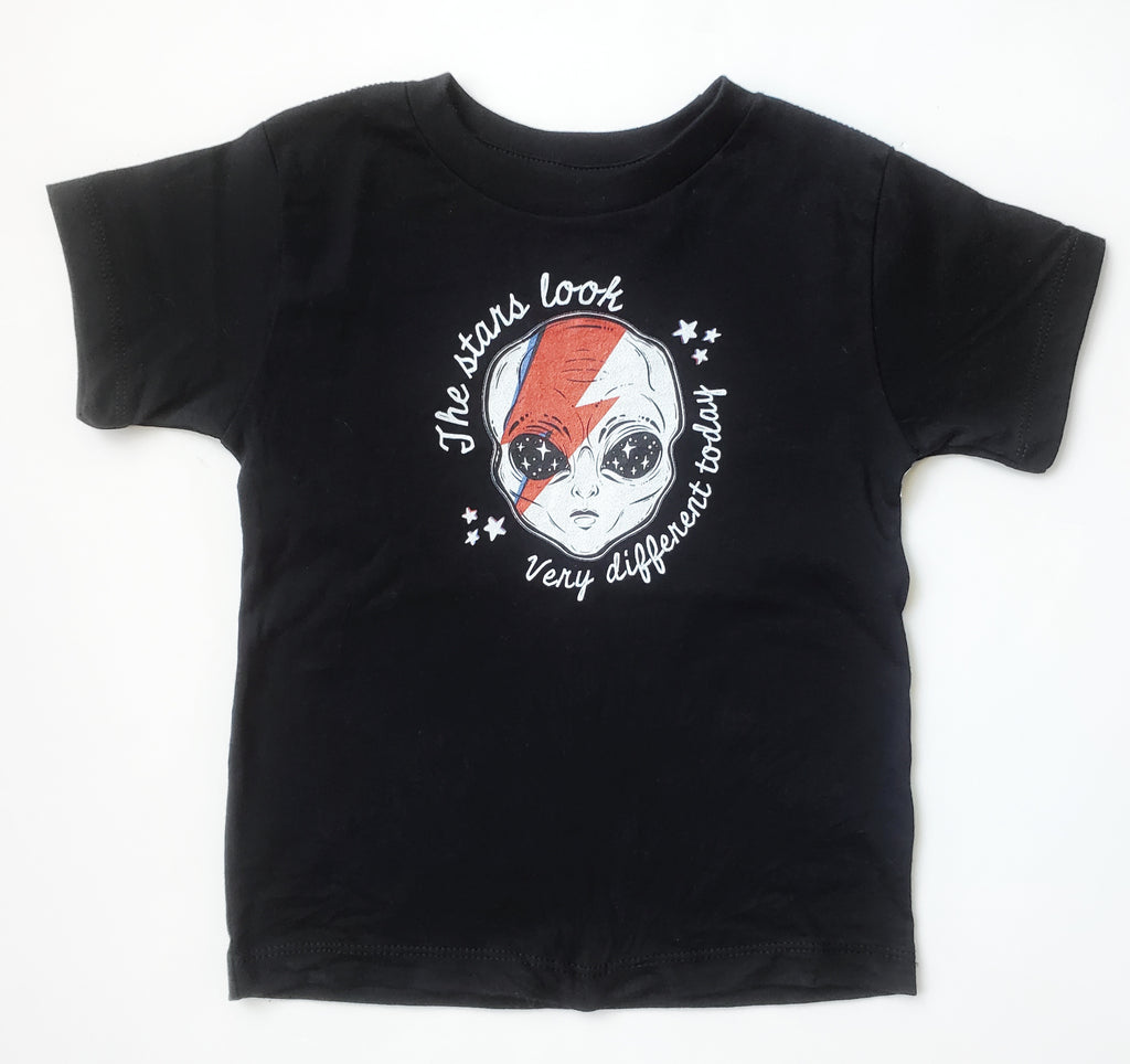 Space Oddity Bowie Tee