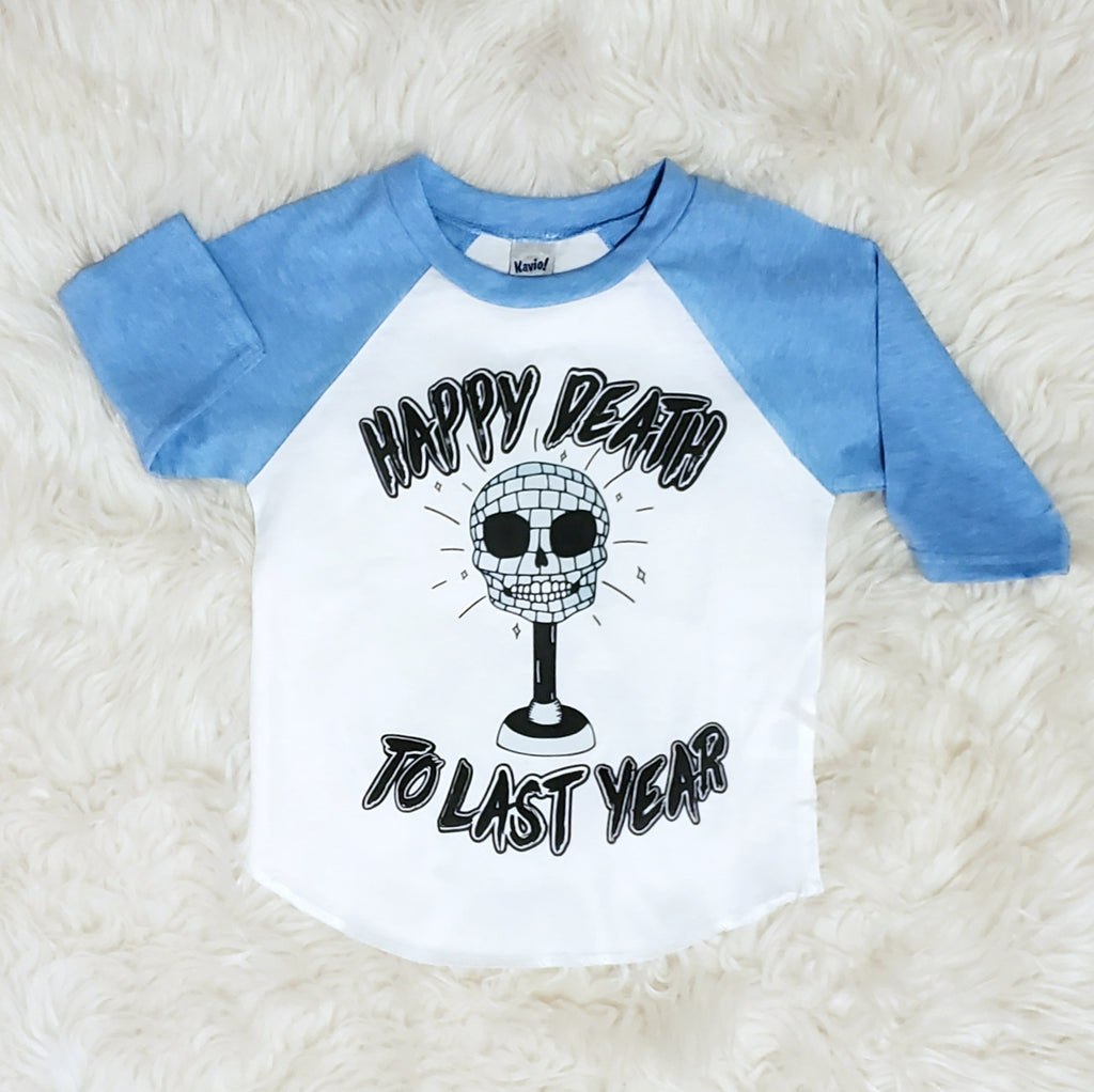 Happy Death to Last Year New Years Raglan