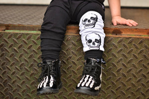 Skull Leg Pocket Harem Pants