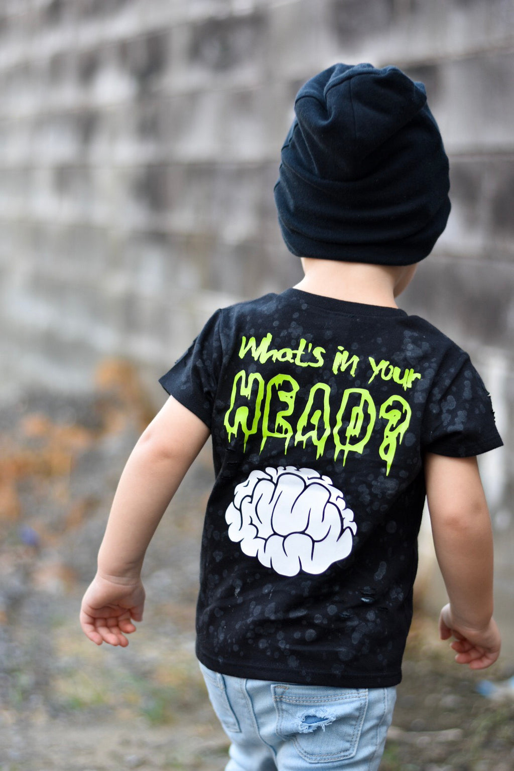 Kid What's in your head? Zombie Tee