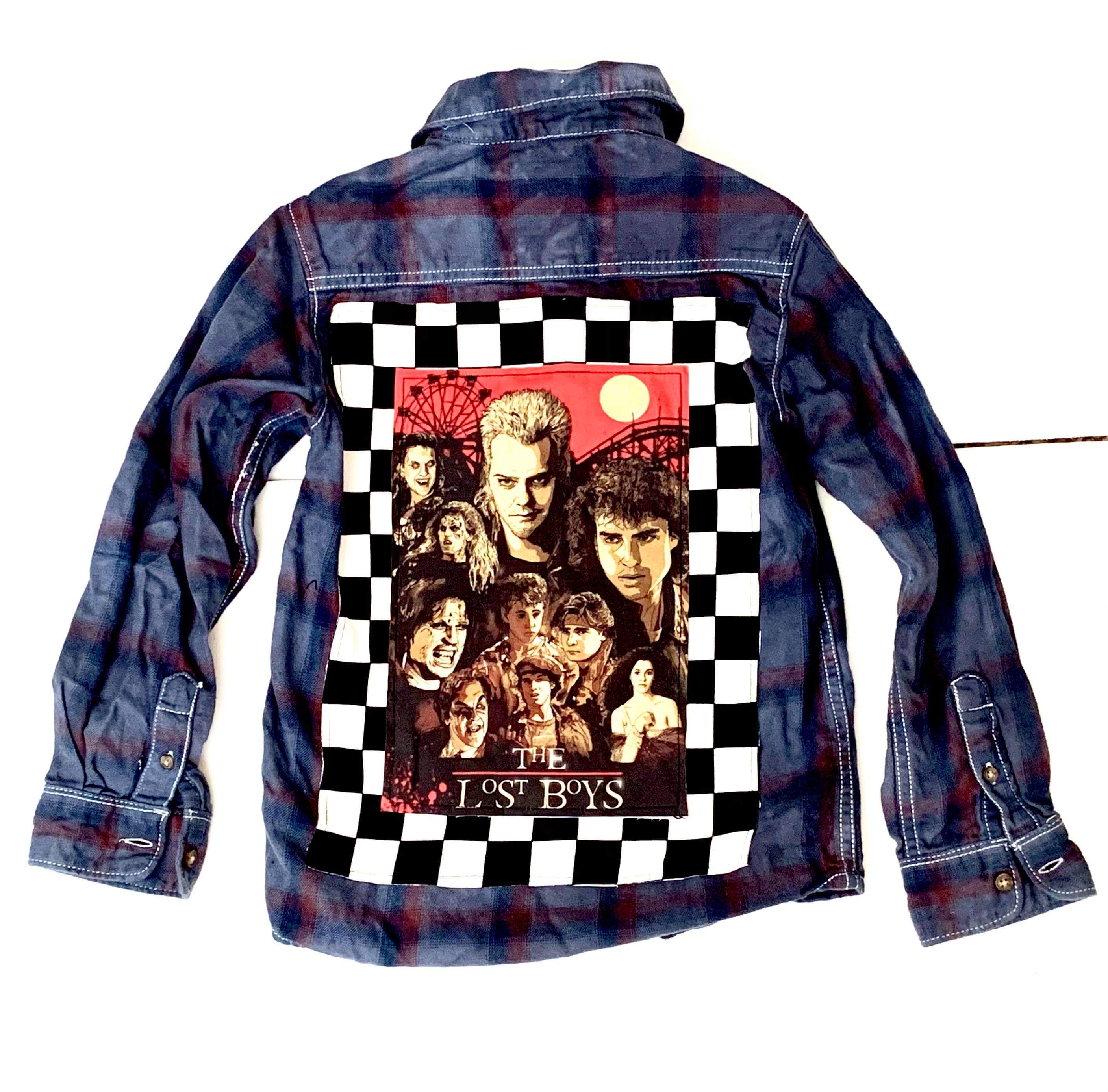 Size 7 Lost Boys Flannel