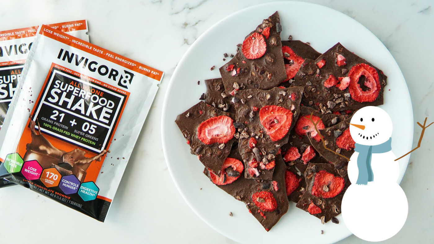 Chocolate Protein Bark