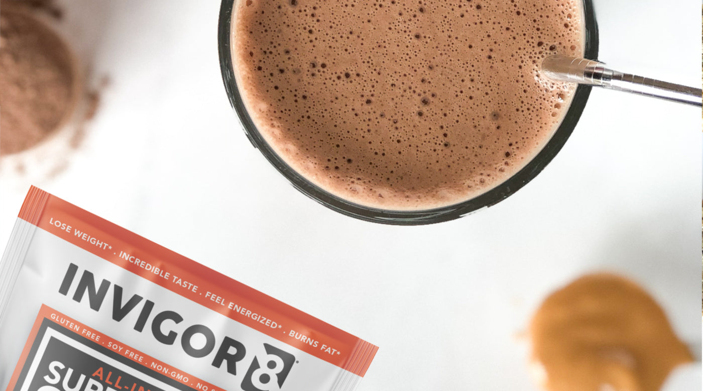 DIY chocolate protein milk