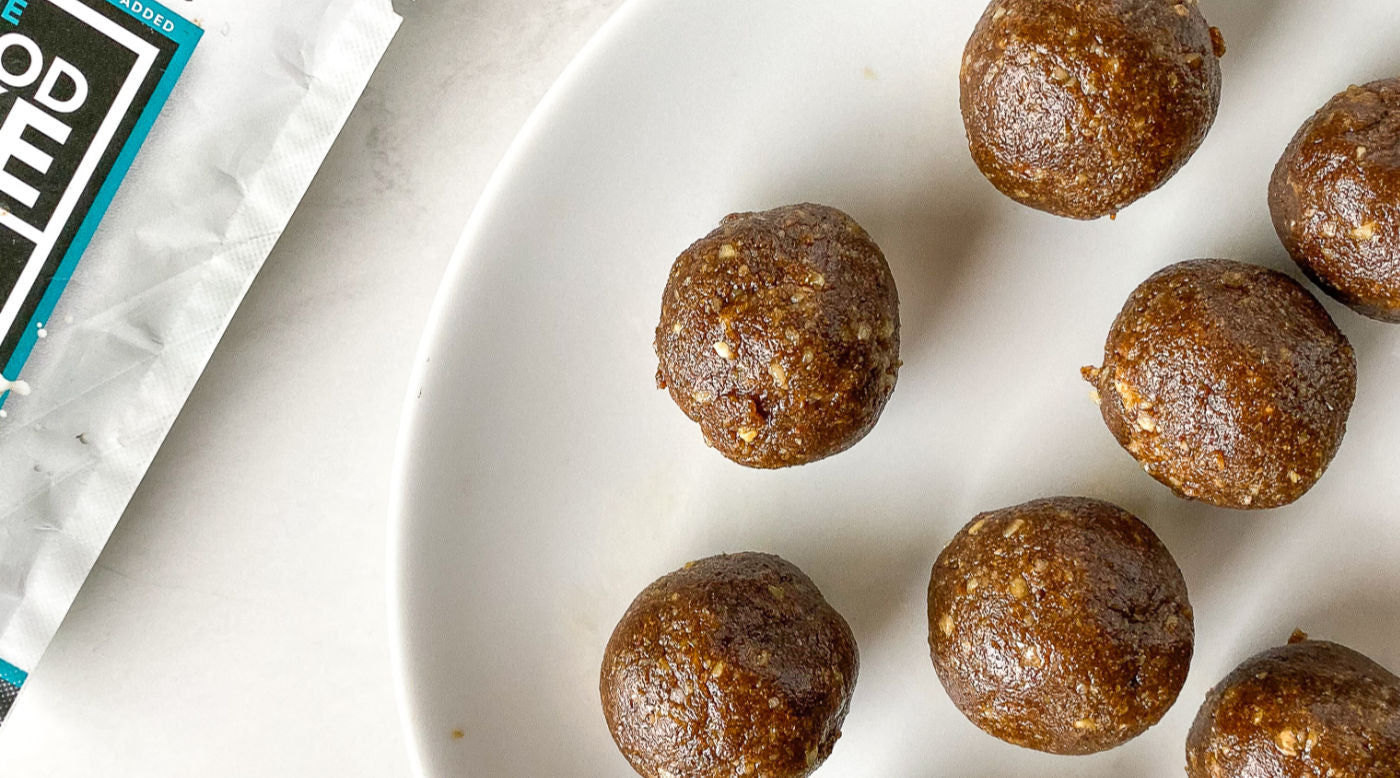 Gingerbread Cookie Bliss Balls
