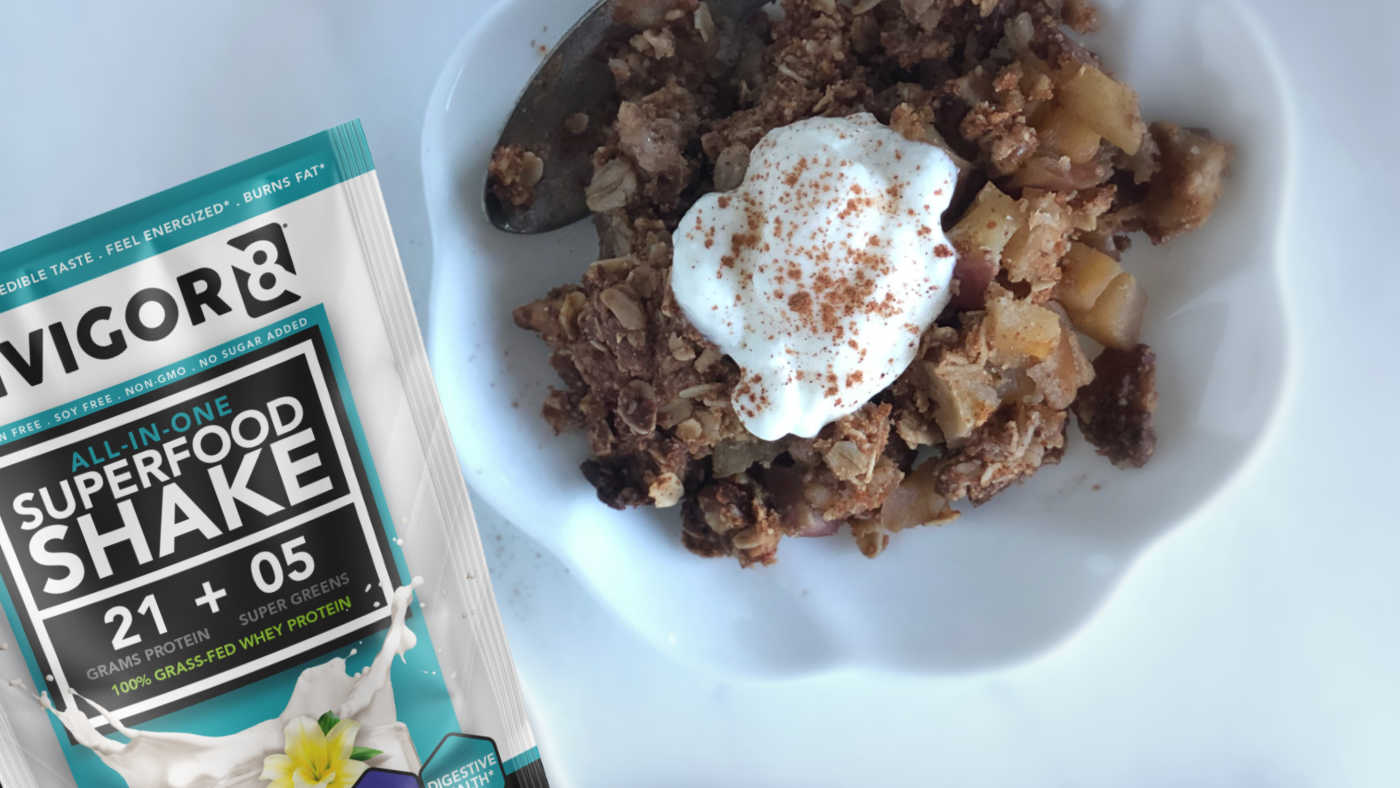 INVIGOR8 Apple Cinnamon Crumble