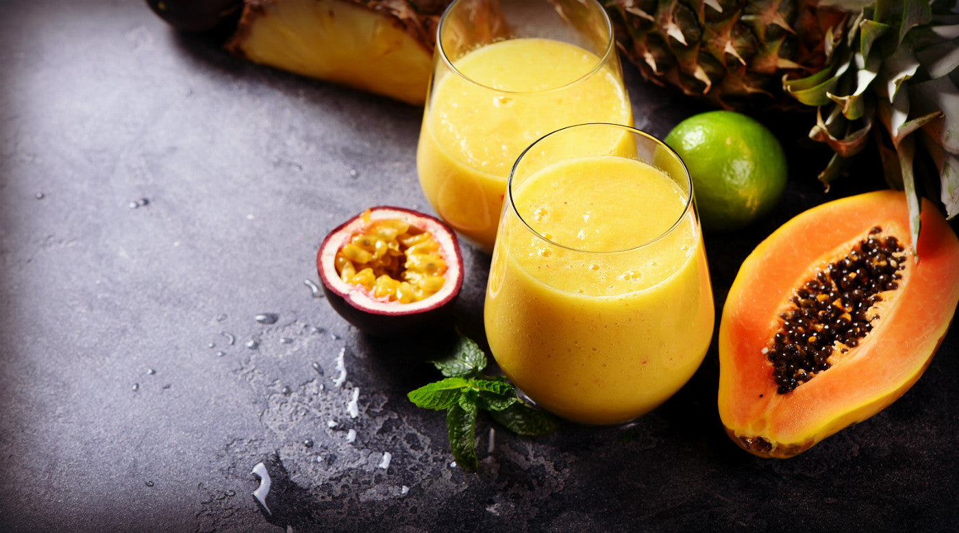 Polynesian Papaya Smoothie
