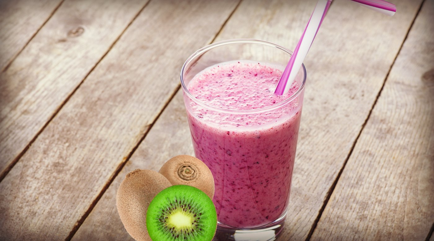 Anti-Aging Kiwi-Blueberry Smoothie