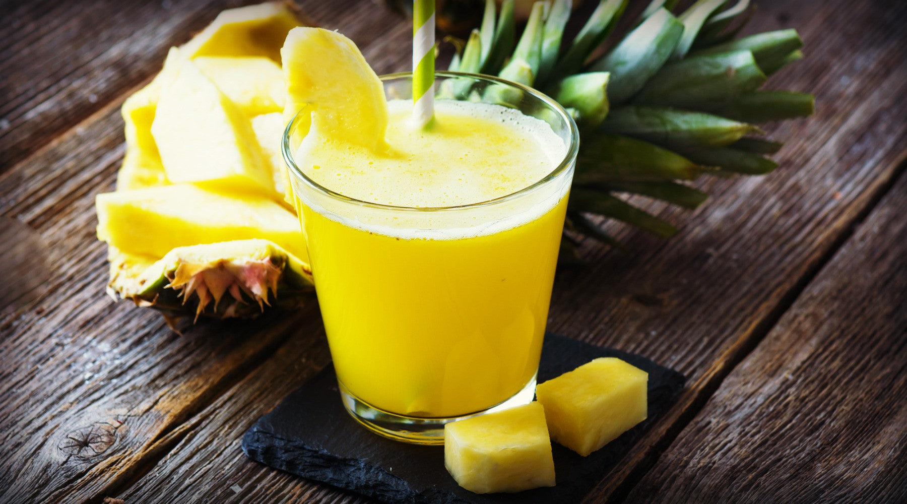 pineapple smoothie