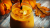 Pumpkin Pie Smoothie on table