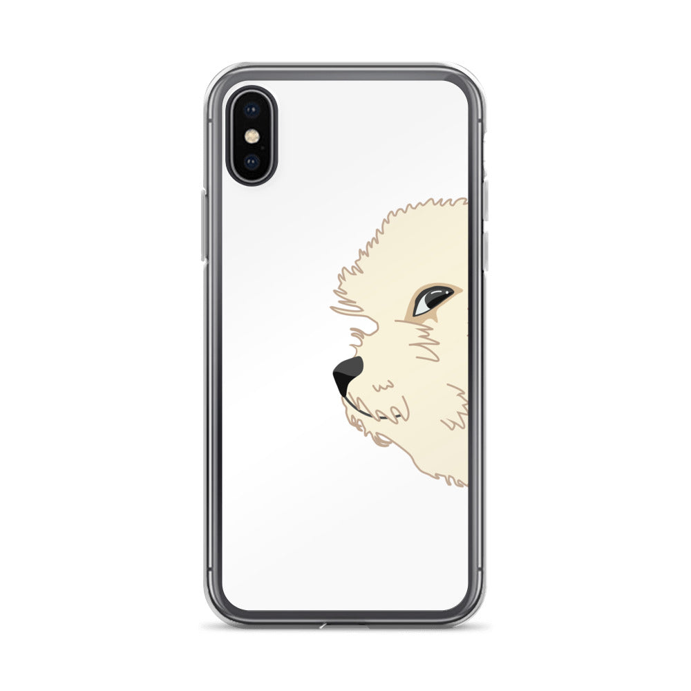 Glaring Doggo iPhone Case