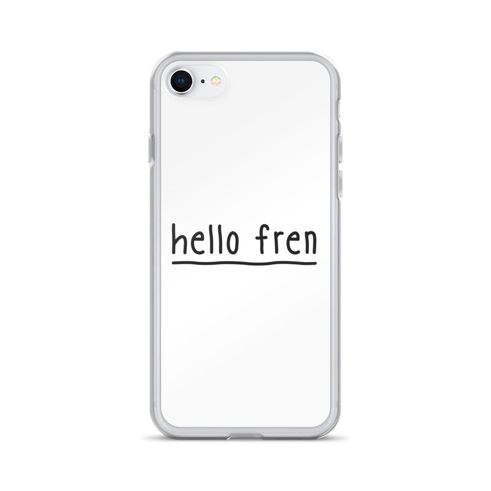 Hello Fren iPhone Case
