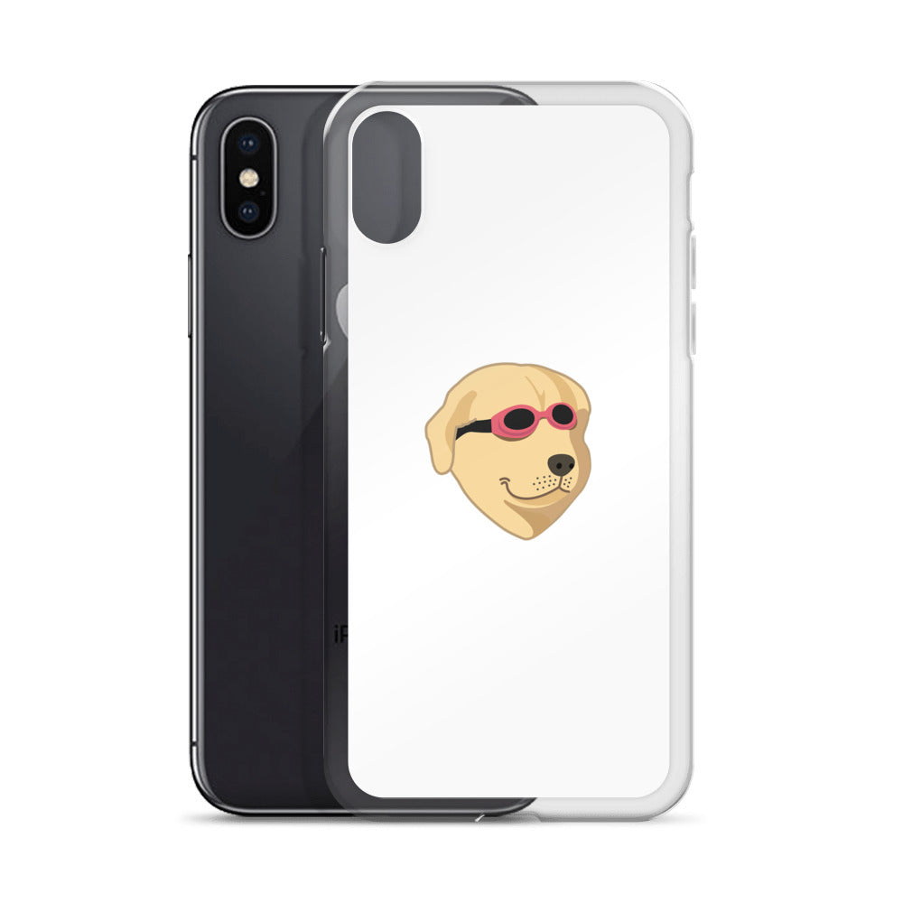 Cool Pool Doggo iPhone Case