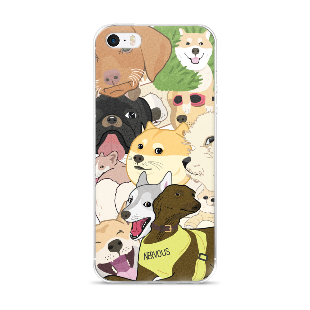 All the Woofers iPhone Case
