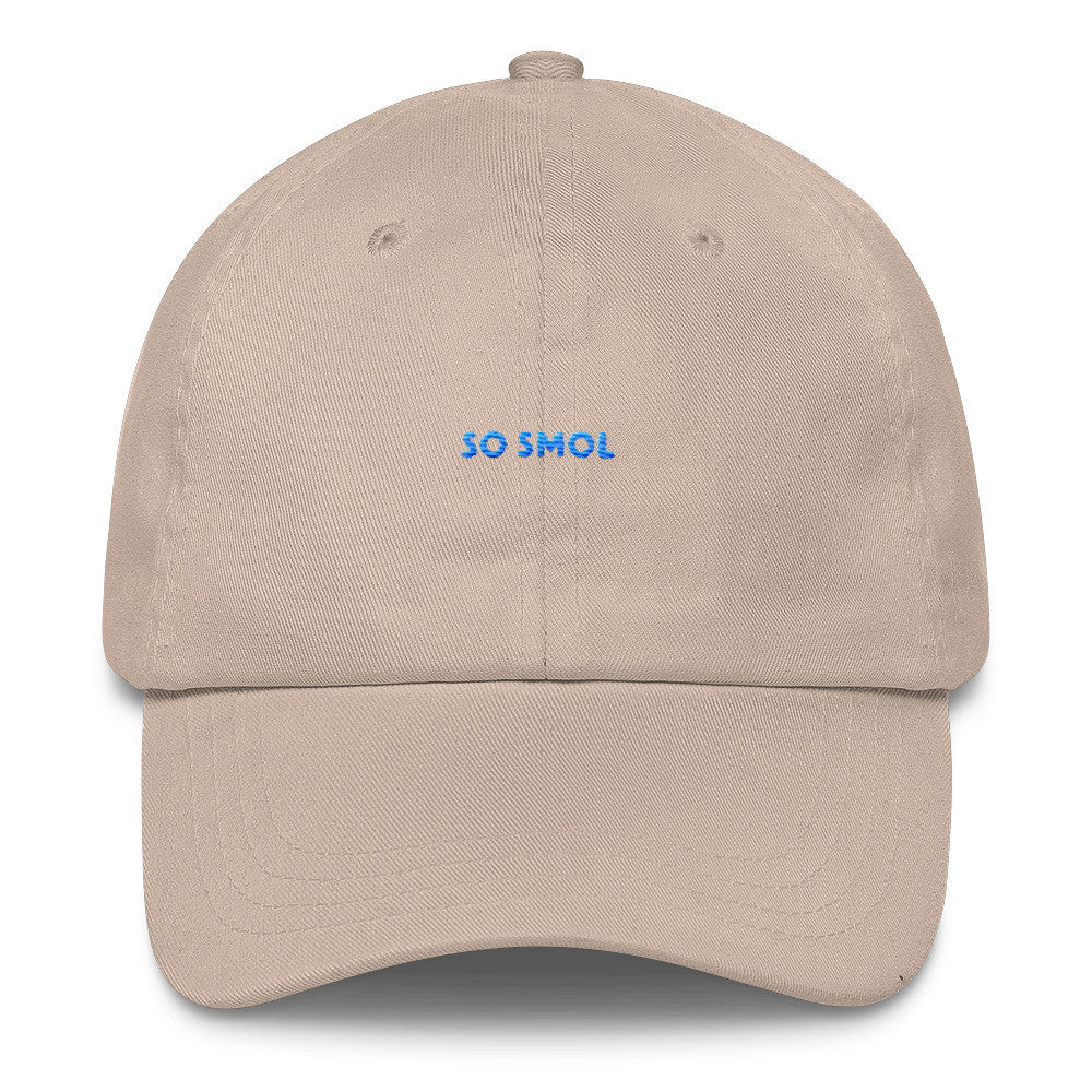 So Smol Dad Hat Blue Embroidery
